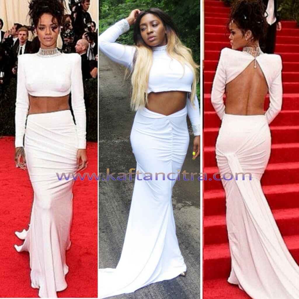 Riri Met Gala Inspired Dress